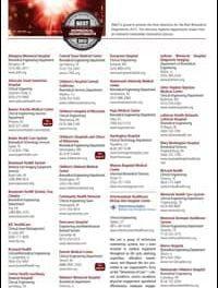 Nominated Biomedical Department Listings