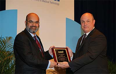 The 2012 Clinical/Biomedical Engineering Achievement Award Recipient