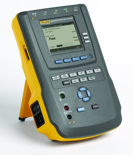 Testing Device Combines Multimeter, Safety Analyzer and ECG Simulator