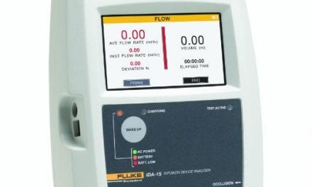 Fluke Biomedical Offers New Infusion Device Analyzer