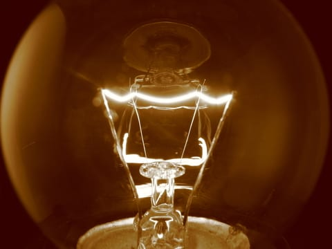 Do Light Bulbs Flash? Incandescent Comments on Networking Column