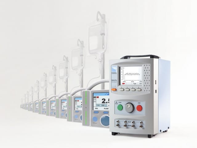 Rigel Analyzer Doubles Infusion Pump Test Capacity