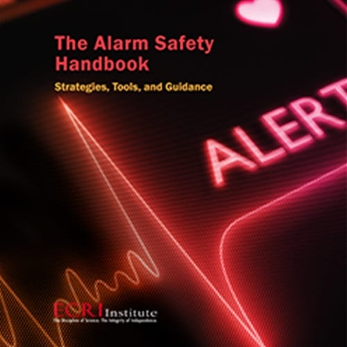 ECRI Publishes Alarm Safety Handbook