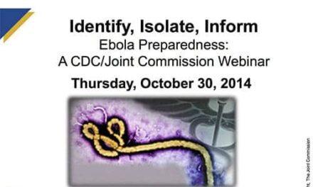 Joint Commission, CDC Cohost Webinar on Ebola Preparedness