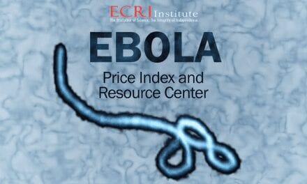 Price Index Anchors ECRI's New Ebola Resource Center