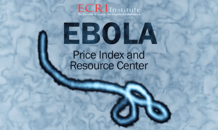 Price Index Anchors ECRI's New Ebola Resource Center