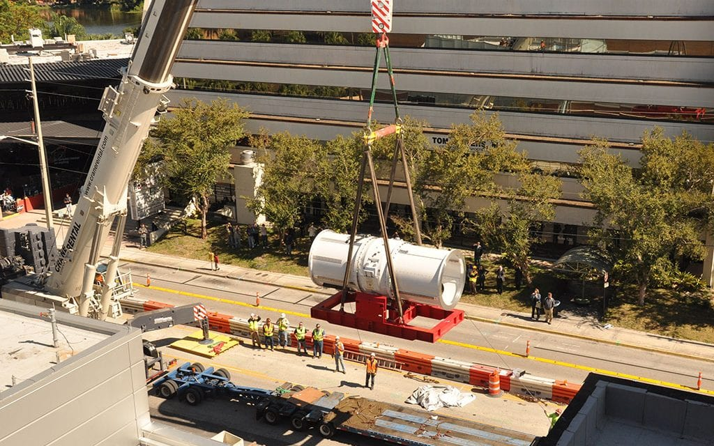 Proton Accelerator Installed in Orlando Hospital