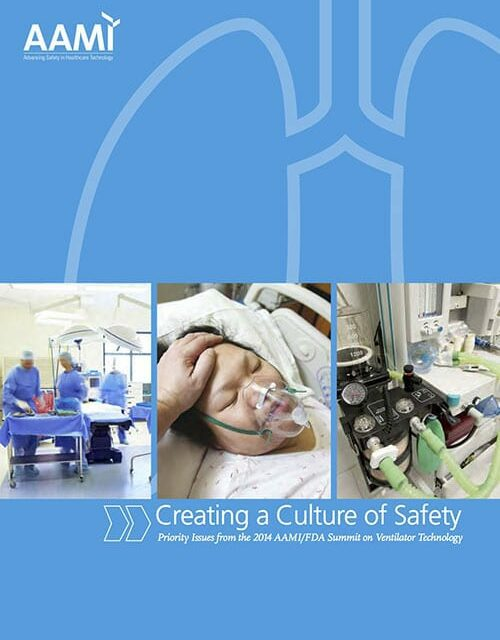 AAMI/FDA Summit 2014 Emphasizes Ventilator Safety