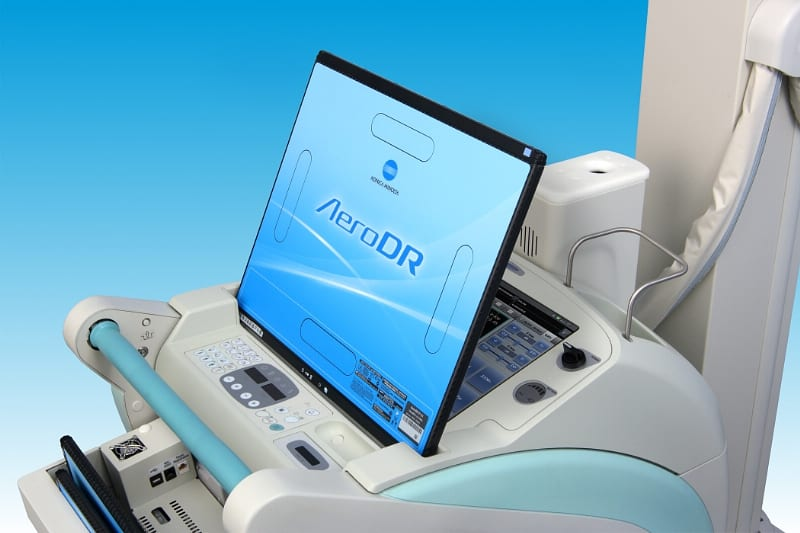 Shimadzu, Konica Announce Wireless MobileArt Digital Radiography