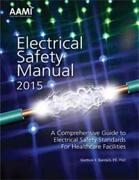 AAMI Publishes Update to Electrical Safety Manual
