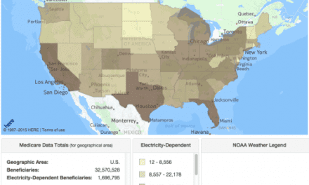 HHS Launches Online Mapping Tool for Disaster Preparedness