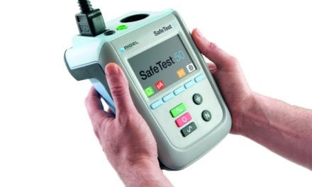 Rigel Introduces Handheld Safety Analyzer for High-volume Testing