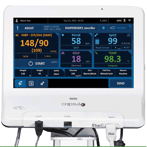 Vital Signs Patient Monitoring System