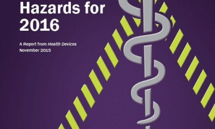 Endoscopes Top Threat on ECRI's 2016 Health Technology Hazards List