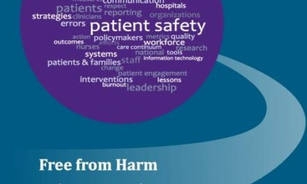 Fifteen Years After To Err Is Human, Free from Harm Echoes Calls for Patient Safety