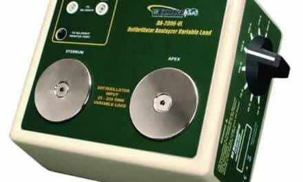 Defibrillator Analyzer Load Bank Receives FDA 510(k) Clearance