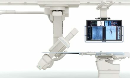 Toshiba Launches Ceiling-Mounted C-arm System