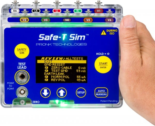 Pronk Technologies Unveils New Automated Electrical Safety Analyzer