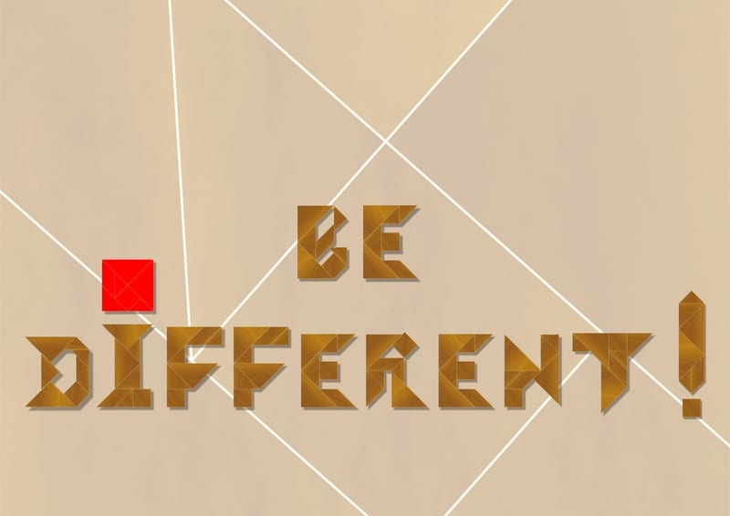 Dare to Be Different—Not Just 'Mighty Mouse'