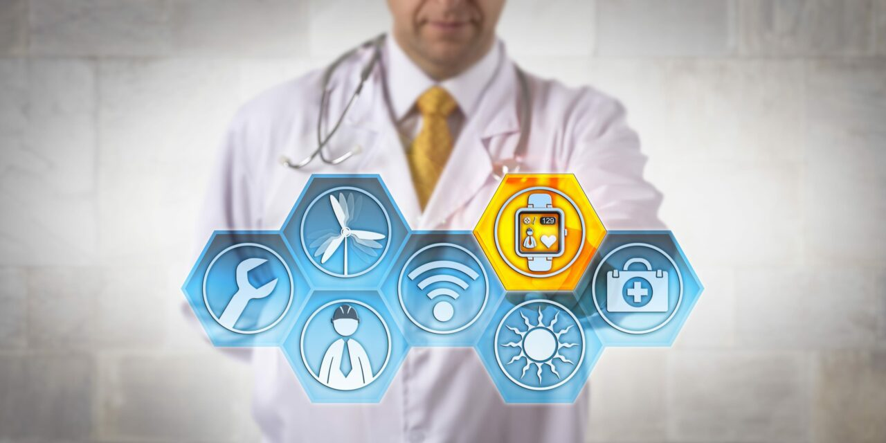The Application of IoT in Healthcare