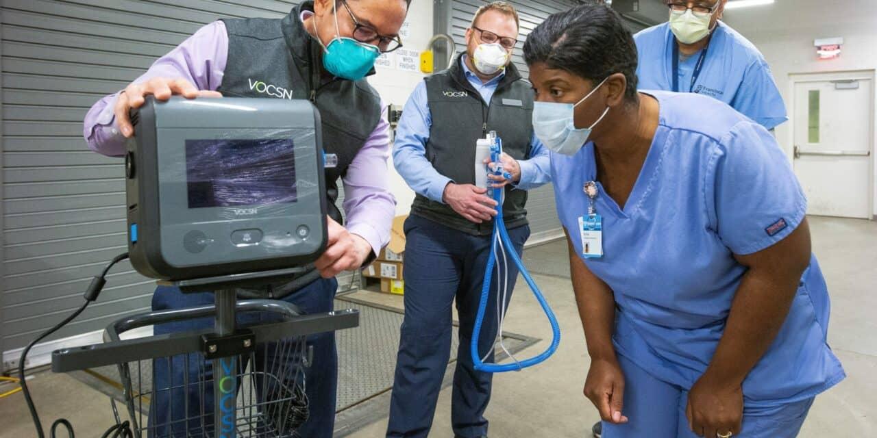 First GM-Ventec Ventilators Delivered to Chicagoland Hospitals