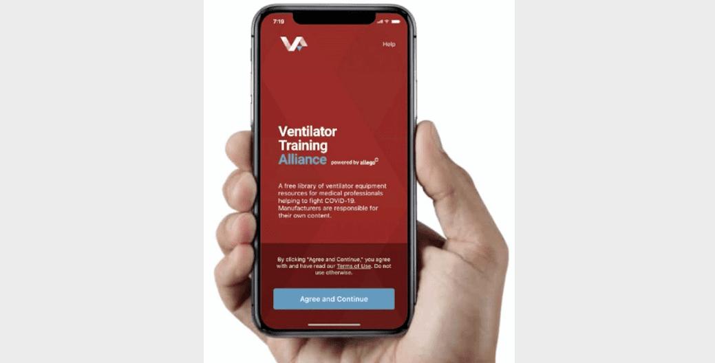 Smiths Medical Joins Ventilator Training Alliance App Partnership