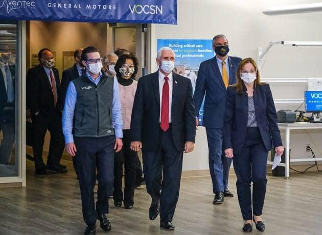 GM Facility to Continue Building Ventilators