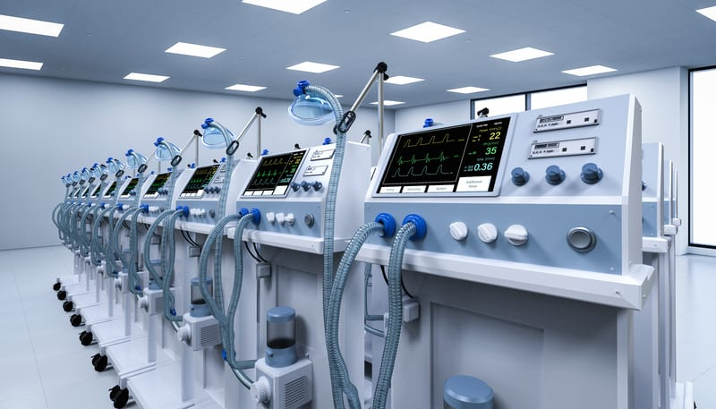 Ventilators Could Be Adapted to Help Two COVID-19 Patients at Once
