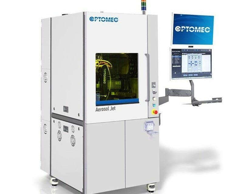 Optomec Delivers 3D Electronics Printer for Medical Device Production