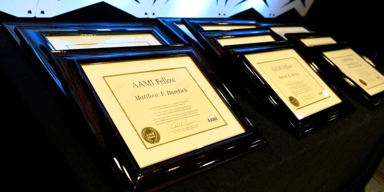 AAMI Fellow Program Opens 2021 Nomination Process