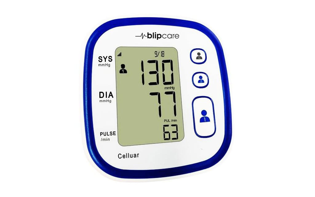 Blipcare Launches Cellular Blood Pressure Monitor for RPM