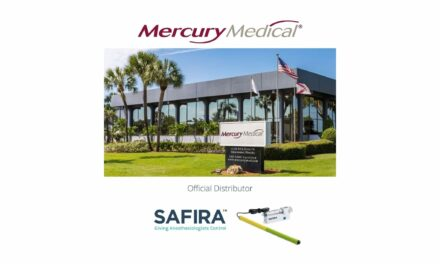 Mercury Medical to Distribute Medovate's SAFIRA in USA