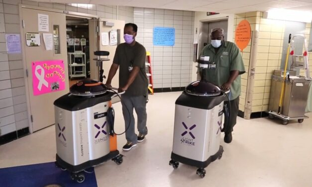 Hospital Uses Germ-Fighting Robots to Combat COVID-19