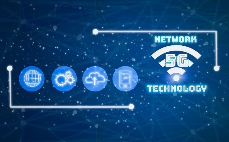 Leveraging the 5G Network to Wirelessly Power IoT Devices