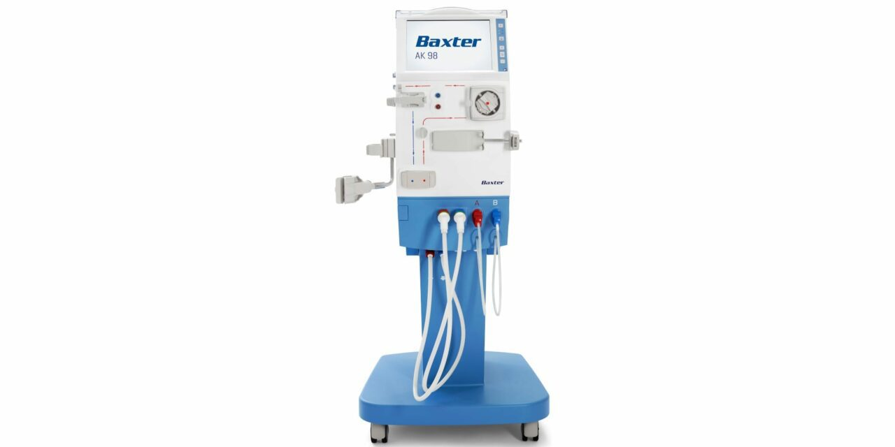 FDA Clears Baxter AK 98 Dialysis Machine