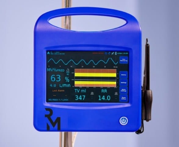 Respiratory Motion Debuts ExSpiron2Xi