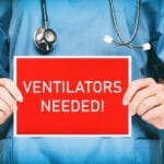 An Open-Source Emergency Ventilator Design with Battery Backup