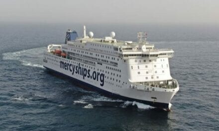 Stena RoRo Delivers World's Largest Civilian Hospital Vessel for Mercy Ships