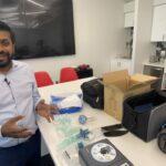 Dallas Men Convert Donated CPAP to Ventilator