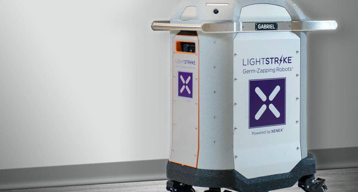 Georgia Hospital Deploys LightStrike Germ-Zapping Robots