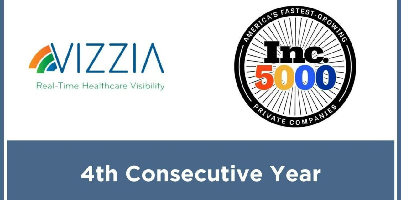 Vizzia Technologies Achieves Inc. 5000 for Fourth Consecutive Year